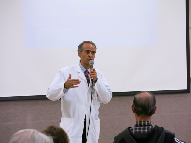 best cataract surgeon in Laguna Hills, Dr. George Salib's Seminar on Eye Care at Laguna Woods